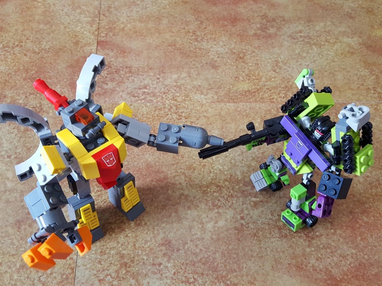 Гоночная машина - автобот » Робот из lego nxt 2.0 22